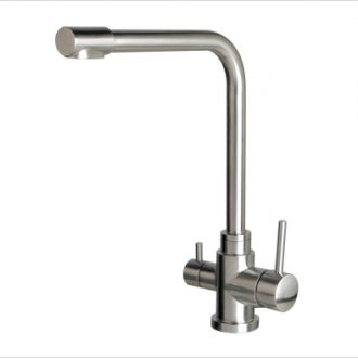 3 way mixer tap square