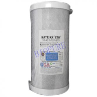 Matrikx CTO 5 Micron Carbon Water Filter 10 x 4.5 inch