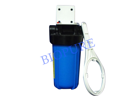 10 inch x 4.5 inch Single Whole House Water Filter Housing Watermark Certified