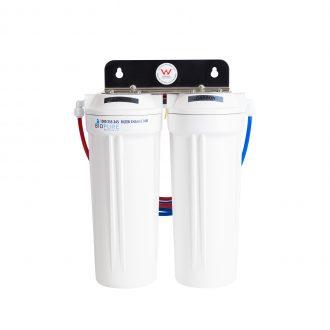 twin undersink water filter