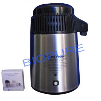 Steam Distiller Water Purifier Spring Flow