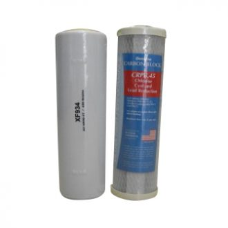 Double Fluoride Removal Replacement Water Filter Cartridges USA Made