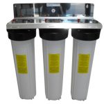 Triple Whole House Water Filter Iron Removal