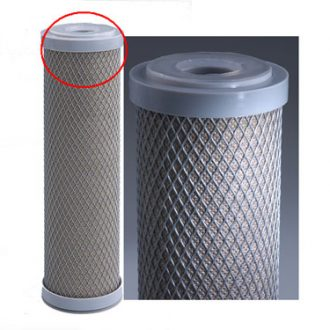 Silver carbon nano water filter 10 x 2.5 inch