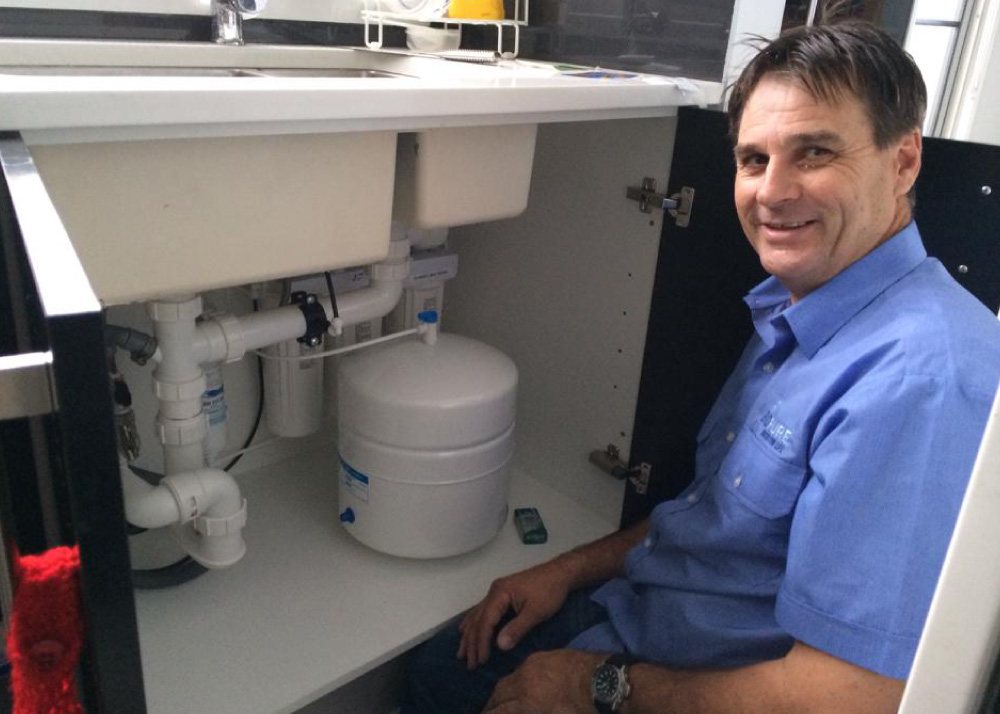 Water Filter Installations on the Gold Coast