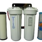 UNAVAILABLE - Twin Under Sink Water Filter Chloramines Removal