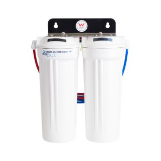 fluoride removal twin under sink water filter system