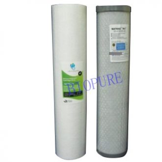 Whole house water filter cartridges 0.5 micron PB1