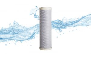 A Biopure carbon water filter cartridge