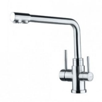 3 way stainless steel mixer tap
